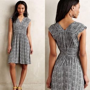 Anthropologie dancette knit sundress XS Black grey
